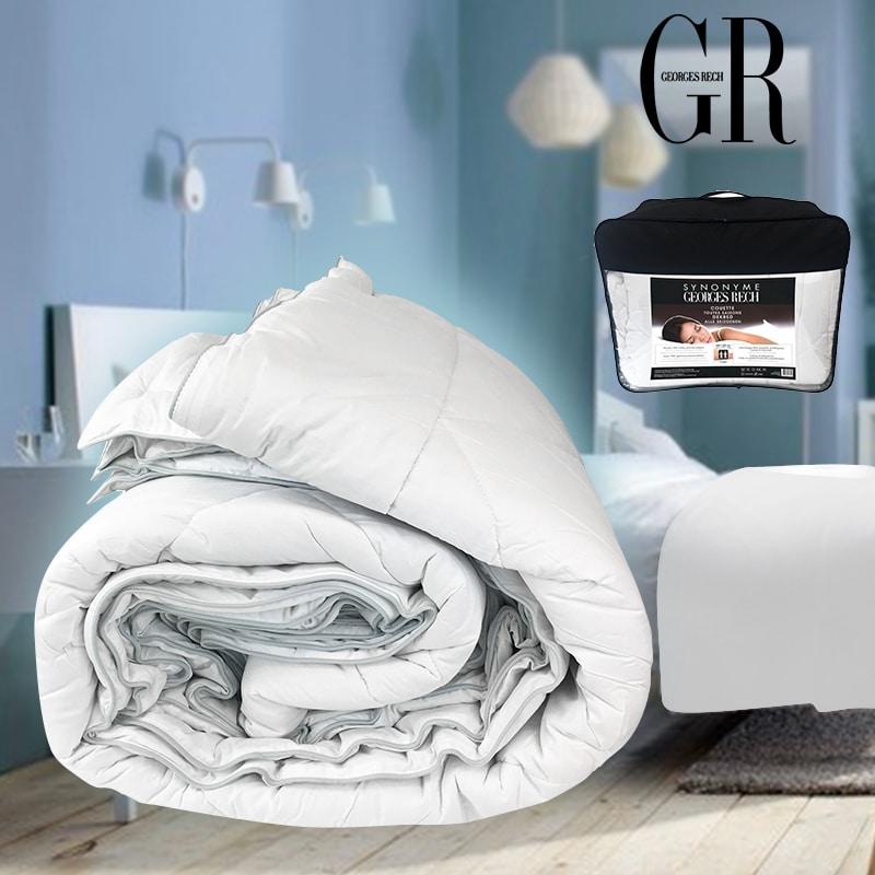 couette toutes saisons 100 coton percale jeorge rech. Black Bedroom Furniture Sets. Home Design Ideas