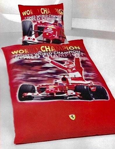 parure housse de couette ferrari Michael Schumacher