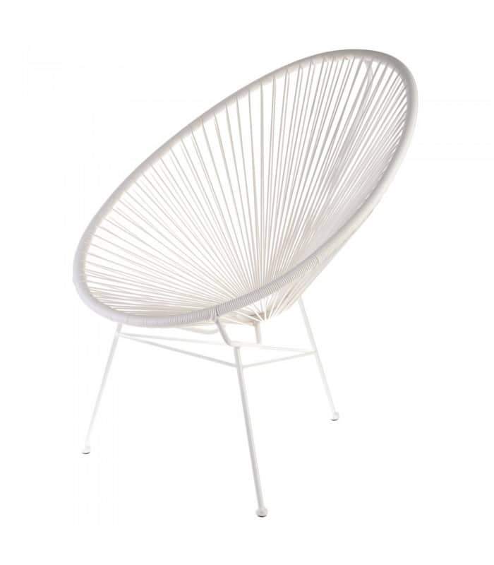 FAUTEUIL OEUF Blanc