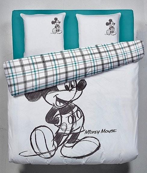 parure housse de couette 2 places Mickey mouse Disney