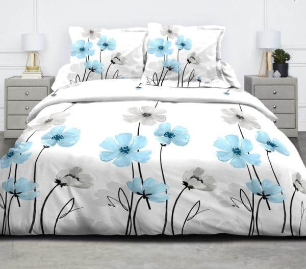 parure de lit pas cher parure de lit avec des fleur